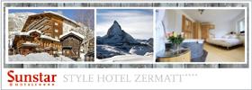 Sunstar Hotels Skiurlaub Zermatt